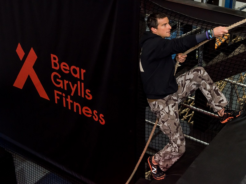 Bear Grylls Fitness centre