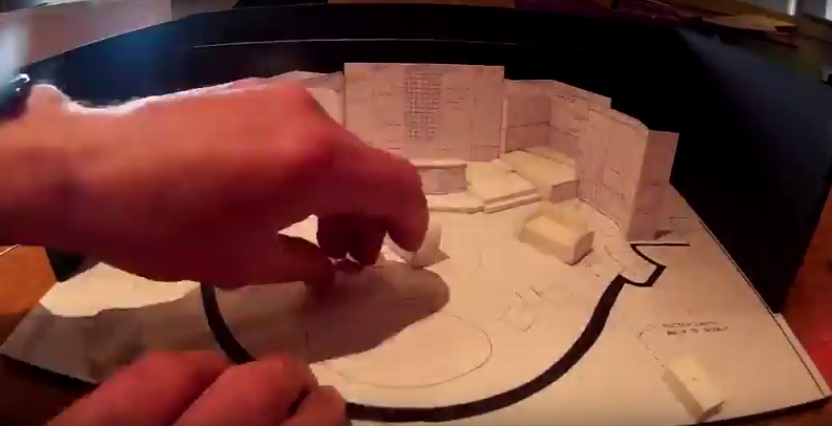 Time lapse video: creating 'Broken Strings' set for Celebrity Cruises